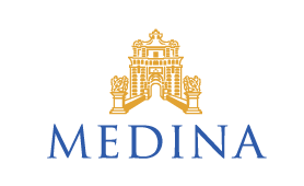 Medina (white & rose)